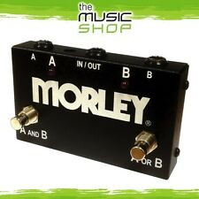 New Morley ABY Selector/Combiner Guitar Pedal - A/B Switch, Route 2 to 1, AB Box
