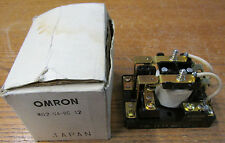 NEW NOS Omron MG2-UA-DC12 Relay 12 Volts D/C 2 Pole