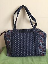 VERA BRADLEY WEEKENDER DUFFLE TRAVEL SHOULDER HAND BAG