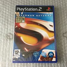 VINTAGE# PS2 PLAYSTATION  SUPERMAN RETURNS WARNER BROS EA # PAL SEALED SIGILLATO