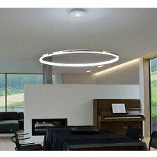 Modern LED Round Acryl Ring Ceiling Chandelier Pendant Lamp Lighting