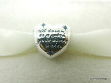 NEW! AUTHENTIC PANDORA CHARM DISNEY CINDERELLAS DREAM W/CZ #791593CFL