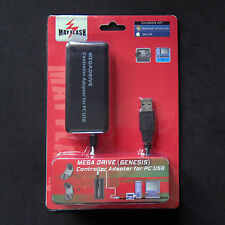 Mayflash Mega Drive Sega Genesis Controller to PC Mac USB Adapter for Dual Port