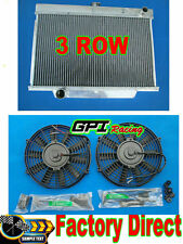 3row HIGH-FLOW ALUMINUM RADIATOR HOLDEN EH/EJ PREMIER V8 SWAP MT 1962-1965 + fan