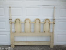 Arched Queen Size Headboard French Provincial Louis XVII Shabby Chic Gothic