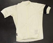 Rapha Off White pro team cycle jersey Large Forcats de la route cycling STAINED