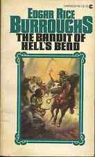THE BANDIT OF HELL'S BEND Edgar Rice Burroughs - WESTERN - BORIS VALLEJO COVER