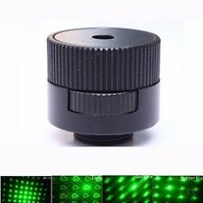8 in 1 Pattern Bright Converter Light  Laser star caps Pointer Pen Beam head 303