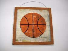 Basketball boys Sports bedroom wooden Wall Art Sign childrens room Decor