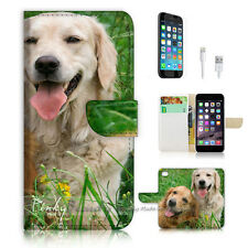 iPhone 7 (4.7') Flip Wallet Case Cover P1877 Puppy Dog
