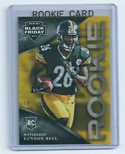 Le'Veon Bell 2013 Panini Black Friday Rookie Card #37   serial numbered of 299