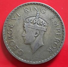British India One Rupee sIlver KGVI. 1940