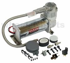 Viair 444C Air Compressor Single Ride Kit 150psi Off Switch & Relay Included