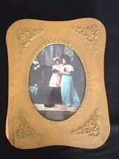 Antique/Vintage Wood Frame W/ Victorian Style Photo Ornate Gold