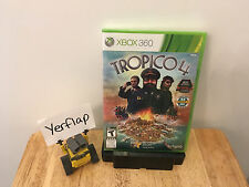 Tropico 4 Xbox 360 FACTORY SEALED NEW