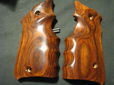 Ruger Mark Mk IV ONLY Rosewood SMOOTH FG Target Pistol Grips - Beautiful New