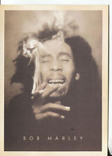 PICTURE POST CARD OF BOB MARLEY UNKNOWN DATE LOOKS LIKE 70'S