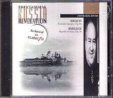 David OISTRAKH BRUCH Scottisch Fantasy BERLIOZ Harold in Italy ROZHDESTVENSKY CD