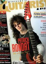 "GUITARIST & BASS #222 ""P.Rondat,Indochine,PJ Harvey,J.Top,P.Von Poehl""(revue)+CD"