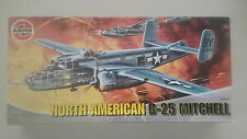 1/72 scale  Airfix WWII US North  American B-25 Mitchell Bomber  kit