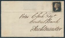 GB #1 ON FOLDED LETTER WITHIN SCOTLAND BR5229