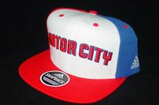 New Retro Detroit Pistons Adidas MOTOR CITY Snapback Hat RARE Last Ones! B67