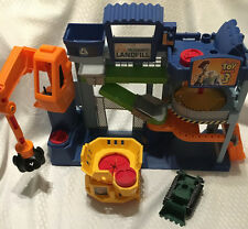 Disney Toy Story 3 Tri-County Landfill Playset with a Buzz Lightyear Figure