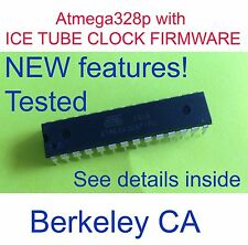 [Berkeley CA]SALE! New Atmega328p with  ICE TUBE CLOCK FIRMWARE TESTED