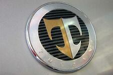"""Hyundai Tiburon Coupe 2007-2008 OEM GENUINE  TUSCANI """"T"""" HOOD  Emblem 863202C700"""