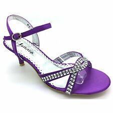 WOMENS LADIES EVENING PARTY WEDDING BRIDAL FASHION DIAMANTE STYLE SANDALS UK S-2