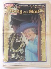 DAILY MAIL with QUEEN'S GOLDEN JUBILEE SOUVENIR PULL-OUT June 5 2002