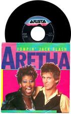 "Aretha Franklin : Jumpin' Jack Flash - vinile 45 giri / 7"" - 1986"