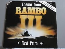 "First Patrol - Theme From Rambo III *12"" Vinyl* ZYX 5977"