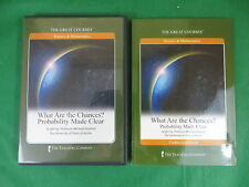 GREAT COURSES What Are The Chances? Probability  2 DVDs & Book Teaching Company
