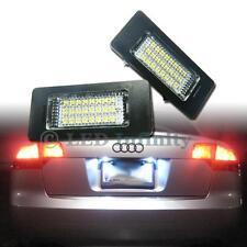 No Error 24-SMD LED License Plate Light Lamps For Audi A1 A5 A6 A7 VW Passat #B