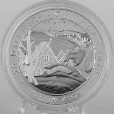 Canada 2013 A Y Jackson Saint-Tite-des-Caps 1 oz Silver $20 Proof #7 Group of 7