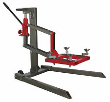 Sealey Single Post Motorcycle Lift 450kg Capacity MCL500