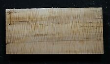 """AWESOME 5A CURLY MAPLE 19 3/8"""" X 9 1/8"""" X 2 7/16"""": GUITAR, LUTHIER, CRAFT"""