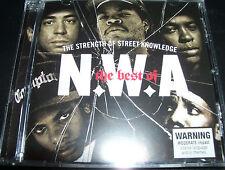 NWA / N.W.A The Strength Of Street Knowledge Best Of (Australia) CD - New