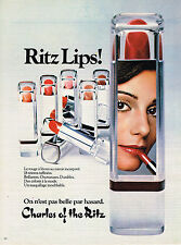 PUBLICITE  1979   CHARLES OF THE RITZ cosmétiques