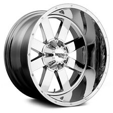 20x12 CHROME wheels MOTO METAL 962 1990-2017 LIFTED CHEVY GMC 1500 6x5.5 -44mm