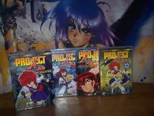 Project A-Ko - Complete Collection - Used Anime DVD - Uncivil Wars, Love&Robots+