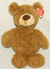 "GUND - Pinchy Plush Teddy Bear Brown / Tan - 17""  Ultra Soft # 4040161 *NEW TAGS"