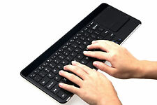 Ultra Thin Wireless Bluetooth Keyboard Touchpad for Computer Mac TV & Tablet
