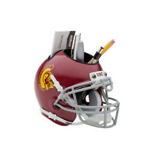 USC Trojans NCAA Football Schutt Mini Helmet Desk Caddy