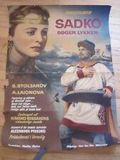 MAGIC VOYAGE OF SINBAD Sadko Aleksandr Ptushko 1954 Danish Original Poster