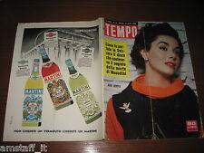 RIVISTA TEMPO 1956/15=MARY MURPHY=FRANK SINATRA=SYLVA KOSCINA=ANUSKA RAIMONDI=