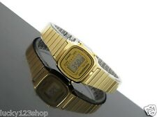 LA670WGA-9D Original Casio Gold Watch Casual Classic Women's New Stainless Steel