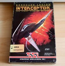 Renegade Legion Interceptor:Commodore/AMIGA/Original verpackung / Boxed