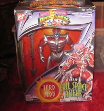 Vintage Mighty Morphin Power Rangers deluxe evil space aliens Lord Zedd  NIP